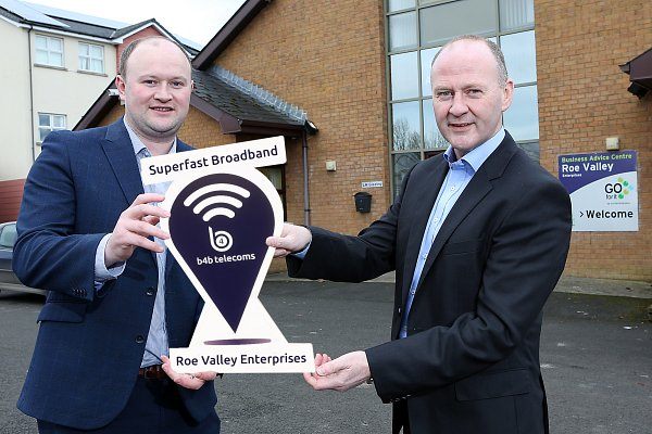 B4B to deliver high speed broadband to Roe Valley Business Park